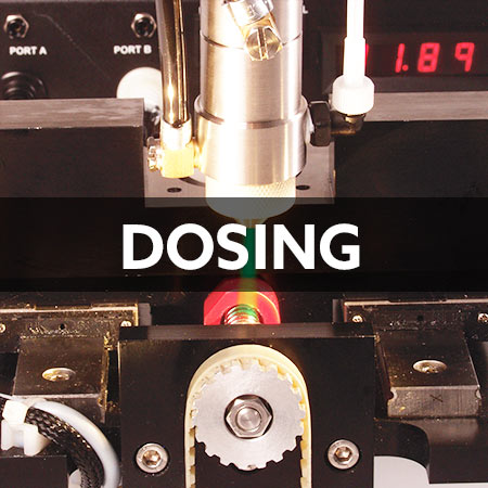 dosing accessories and dosing systems and industrial robots